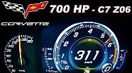 Corvette C7 Z06 0-300 Acceleration Onboard Autobahn MF-RS750 Stingray