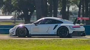 Porsche GTE 2017 test Sebring