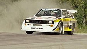 Audi quattro in Aktion