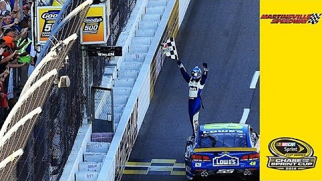 Martinsville: Jimmie Johnson siegt