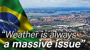 ¿Cómo afecta el clima el GP de Brasil?