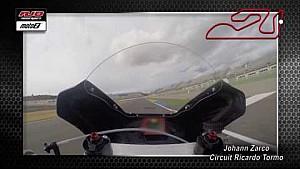 Un tour de Valencia con Johann Zarco, doble Campeón Moto2