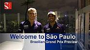Welcome To São Paulo - Brazilian Grand Prix - Sauber F1 Team