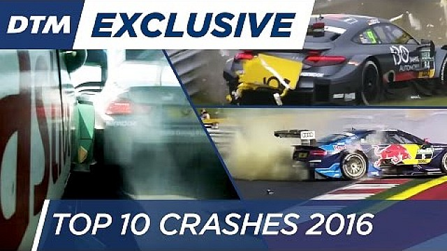 Top 10 Crashes - DTM 2016