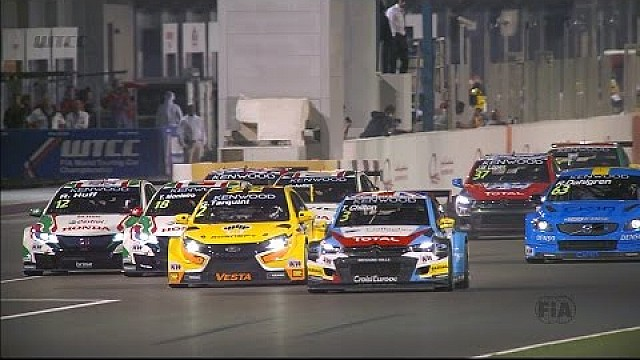 The best action from the WTCC Opening Race in Qatar