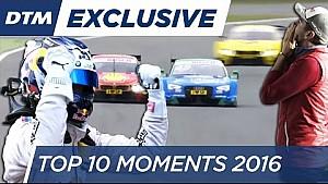 Top 10 Moments - DTM 2016