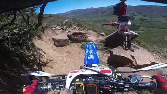 Onboard with Marc Bourgeois in Roof of Africa