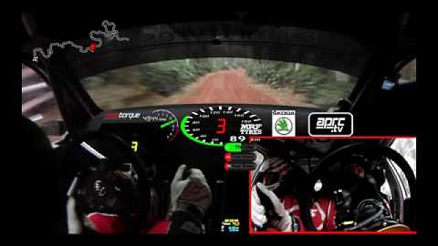 APRC 2016 India Rally: onboard Gaurav Gill SS2