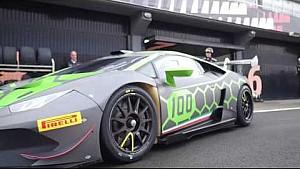 Andrea Dovizioso on track with Lamborghini Squadra Corse - The interview