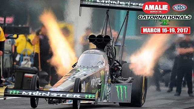 Highlights from the 2016 Amalie Motor Oil NHRA Gatornationals in Florida!