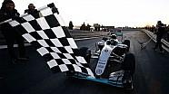 Onboard Rosberg'in Mercedes W07 ile son turları