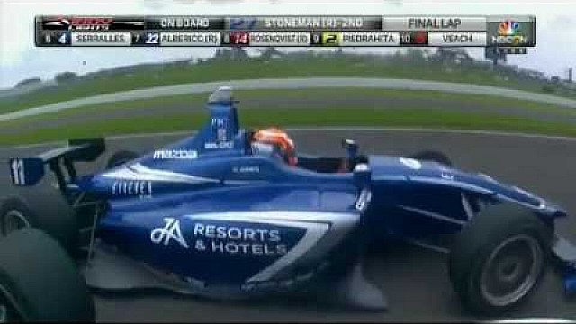 Фотофиниш в Indy Lights
