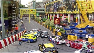 Затор в первой гонке TCR в Макао