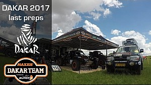 Last preparations Dakar for Coronel Maxxis team, 2017
