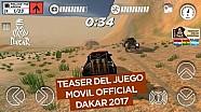 El juego móvil oficial del Dakar 2017 - Teaser oficial
