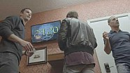 Tony Kanaan, Scott Dixon et Alexander Rossi dans un Escape Game