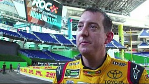 NASCAR's Kyle Busch on Edwards, Suarez and Jones