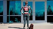 Le premier jour de Kevin Magnussen chez Haas