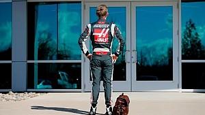El primer día de Kevin Magnussen en Haas