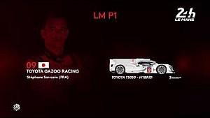 24 Heures du Mans 2017 - LM P1 class entry list