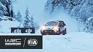 WRC - Ралі Швеція 2017: Найкращі моменти ділянок 1-4