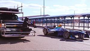 Quemando llanta: Detrás de cámara en New York - Fórmula E