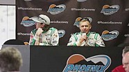 Ed Carpenter Racing Saturday Phoenix Open Test News Conference