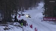 WRC-2017瑞典拉力赛-第三天比赛集锦(上半部分)