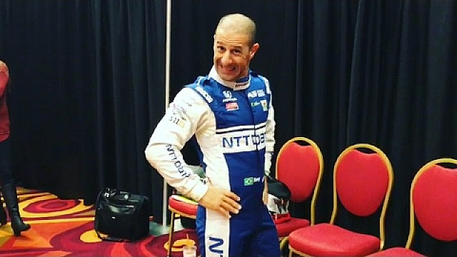 Tony Kanaan Phoenix Media Day Instagram