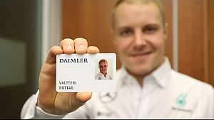 Valtteri Bottas visits Mercedes HQ: welcome to the family!