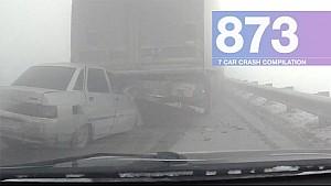 Car Crashes Compilation 873 - February 2017