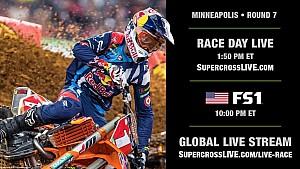 Supercross 7. Yarış: Minneapolis