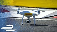 Puerto Madero visto desde un drone de DHL