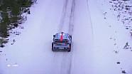 WRC-瑞典拉力赛-精彩航拍
