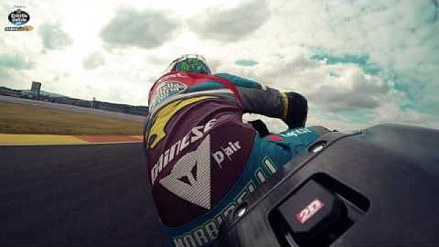 A fast lap of Valencia with Franco Morbidelli