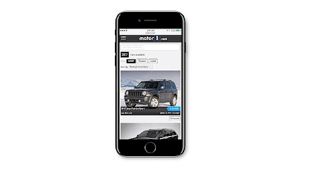 Shop for your next car on Motor1.com