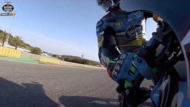 A fast lap of Jerez with Franco Morbidelli