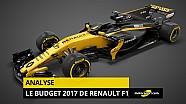 Le budget 2017 de Renault F1 en détail