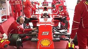 Ferrari SF70H: Sebastian Vettel