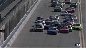 Big wreck strikes early - NASCAR Xfinity Daytona