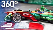 Buenos Aires ePrix First Lap In 360°! - Formula E