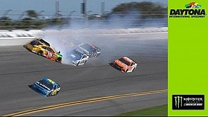 Daytona 500: Crash mit Kyle Busch & Earnhardt Jr.