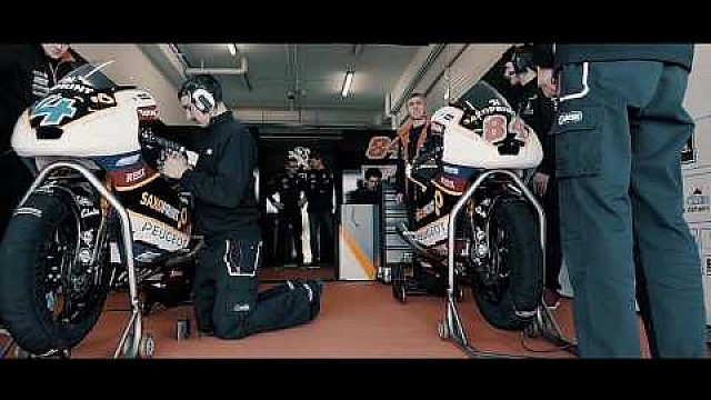 Peugeot riders getting ready for 2017 Moto3 season