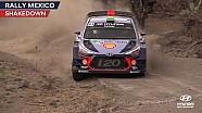 Rally Mexico shakedown - Hyundai Motorsport 2017