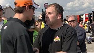 Michigan 2010: Logano vs. Newman