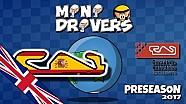 MiniDrivers - 2017赛季F1围场变化介绍
