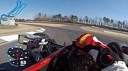 Visor cam: Graham Rahal en Barber Motorsports Park
