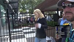 Ünlü oyuncu Nicole Kidman Ferrari garajında
