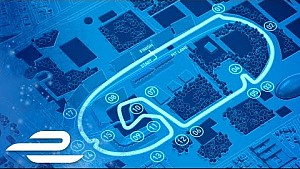 Julius Baer México ePrix mapa de la pista - Fórmula E