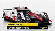 Toyota présente sa LMP1 2017, la TS050 Hybrid